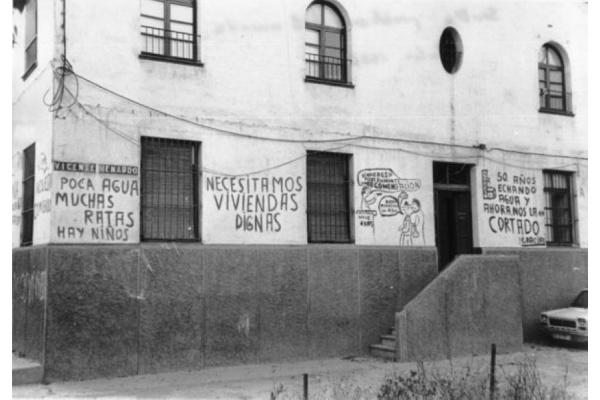 Problema de la vivienda - Sevilla - julio 1978