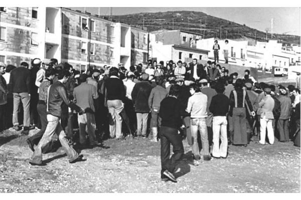 Huelga general - Habla Fco Casero - Bornos - Cádiz