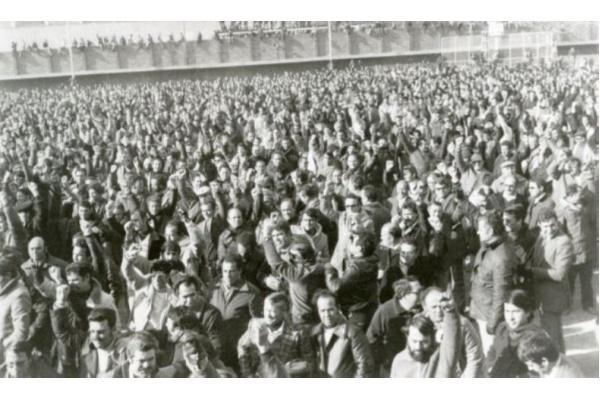 Asamblea de trabajadores de SEAT - enero 1980
